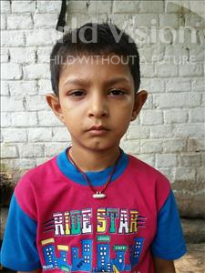 Choose a child to sponsor, like this little boy from Bhojpur, Anoop age 8