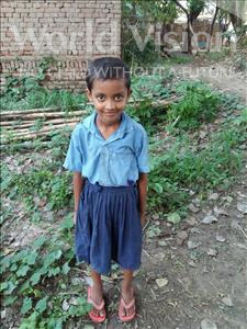 Choose a child to sponsor, like this little girl from Bhojpur, Kumari age 7