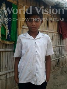 Choose a child to sponsor, like this little boy from Patna, Shiva age 13