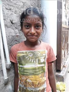 Choose a child to sponsor, like this little girl from Patna, Aashi age 11