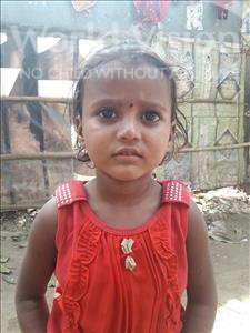Choose a child to sponsor, like this little girl from Patna, Chanda age 4