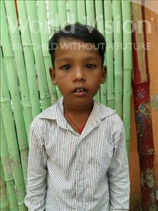Choose a child to sponsor, like this little Boy from Patna, Iswar age 9