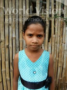 Choose a child to sponsor, like this little girl from Patna, Punita age 9