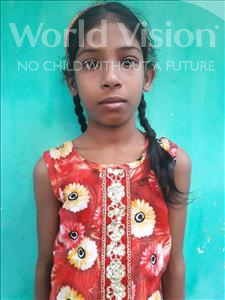 Khushi, aged 11, from India, is hoping for a World Vision sponsor