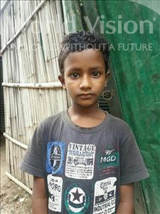 Choose a child to sponsor, like this little boy from Patna, Suman age 7