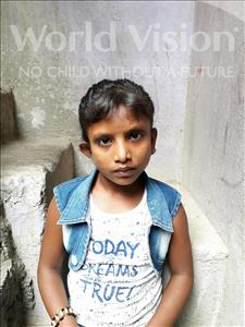 Mamta, aged 12, from India, is hoping for a World Vision sponsor