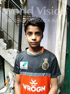 Choose a child to sponsor, like this little boy from Patna, Pintu age 13