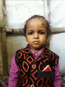 Choose a child to sponsor, like this little boy from Patna, Raj Subham age 2