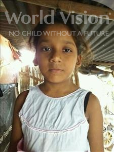 Choose a child to sponsor, like this little girl from Patna, Kinjal age 8