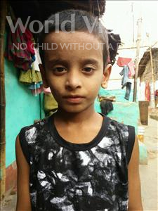 Choose a child to sponsor, like this little boy from Patna, Ayush age 6