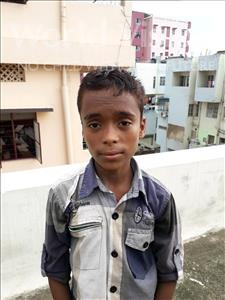 Choose a child to sponsor, like this little boy from Patna, Sahil Kumar age 9