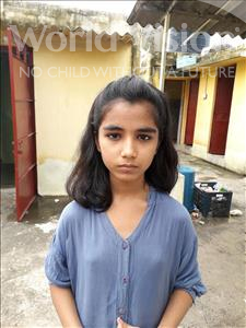 Choose a child to sponsor, like this little girl from Patna, Alisha Kumari age 7