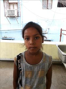 Choose a child to sponsor, like this little girl from Patna, Ganga Kumari age 10