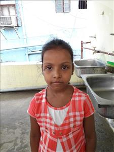 Choose a child to sponsor, like this little girl from Patna, Gungun age 6