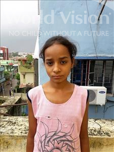 Choose a child to sponsor, like this little girl from Patna, Reshmi age 11