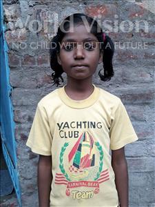 Choose a child to sponsor, like this little girl from Patna, Nishu Kumari age 6