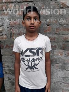 Rishav, aged 10, from India, is hoping for a World Vision sponsor