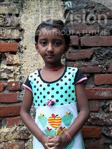 Choose a child to sponsor, like this little girl from Patna, Ankita Kumari age 6