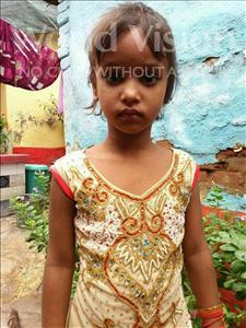 Choose a child to sponsor, like this little girl from Patna, Riya Kumari age 4