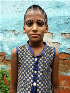 Choose a child to sponsor, like this little girl from Patna, Ragini Kumari age 5
