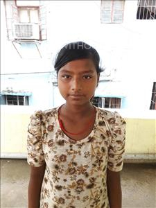 Choose a child to sponsor, like this little girl from Patna, Khushi age 10