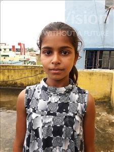 Choose a child to sponsor, like this little girl from Patna, Mansi Kumari age 9