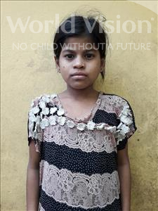 Choose a child to sponsor, like this little girl from Patna, Karishma age 9