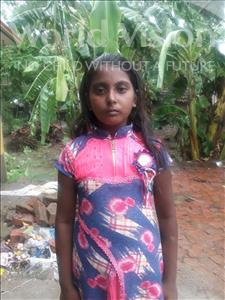 Choose a child to sponsor, like this little girl from Vaishali, Kareena age 11