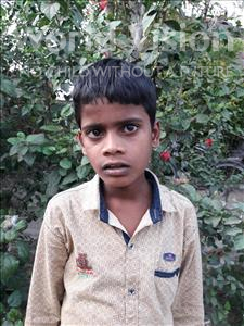 Choose a child to sponsor, like this little boy from Vaishali, Aniket age 10