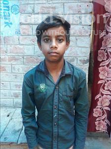 Choose a child to sponsor, like this little boy from Vaishali, Ravishankar age 12