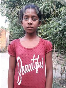 Choose a child to sponsor, like this little girl from Vaishali, Anshu age 11