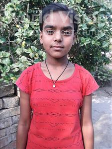 Choose a child to sponsor, like this little girl from Vaishali, Anupam age 12