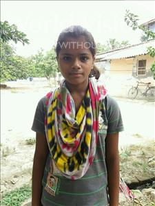 Choose a child to sponsor, like this little girl from Vaishali, Khooshbu age 11