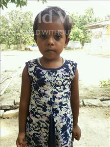 Choose a child to sponsor, like this little girl from Vaishali, Laxmi age 6