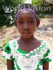 Choose a child to sponsor, like this little girl from Kazuzo, Julia Eduardo age 9