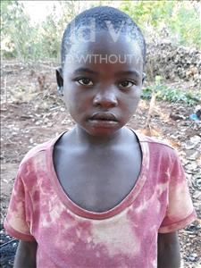 Choose a child to sponsor, like this little girl from Kazuzo, Valeria Izaquiel age 7