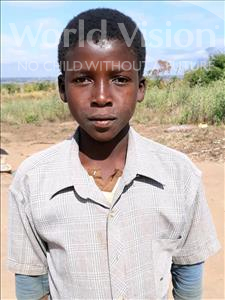 Choose a child to sponsor, like this little boy from Kazuzo, Zacarias Antonio age 11