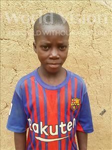Choose a child to sponsor, like this little boy from Sirba, Abdoulrachide age 11