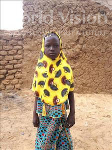Choose a child to sponsor, like this little girl from Komabangou, Amina age 9
