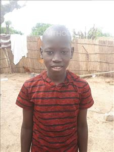 Choose a child to sponsor, like this little boy from Mbella, Dioumacor age 12
