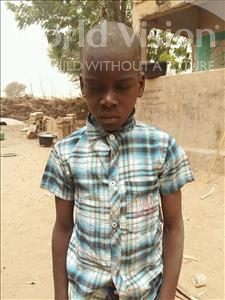 Choose a child to sponsor, like this little boy from Mbella, Boubacar age 10