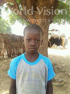 Choose a child to sponsor, like this little boy from Mbella, Birame age 10