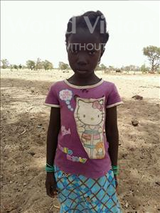 Choose a child to sponsor, like this little girl from Mbella, Niny age 7
