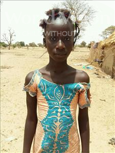 Choose a child to sponsor, like this little girl from Mbella, Aissatou age 11