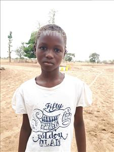 Choose a child to sponsor, like this little girl from Mbella, Seynabou age 11