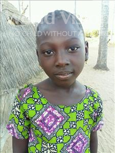 Choose a child to sponsor, like this little girl from Mbella, Birama age 9
