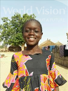 Choose a child to sponsor, like this little girl from Mbella, Daba age 11