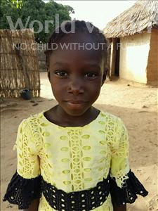 Choose a child to sponsor, like this little girl from Mbella, Mame Diarra age 6