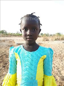 Maimouna, aged 4, from Senegal, is hoping for a World Vision sponsor