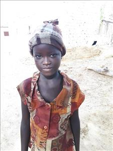 Choose a child to sponsor, like this little girl from Mbella, Awa age 7